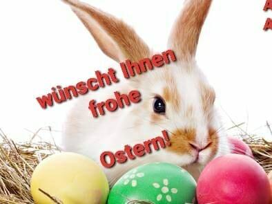 Frohe Ostern Wünscht A-S Umzüge und Autovermietung!!